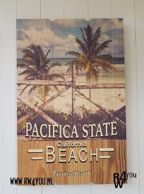 wanddecoratie Pacifica State