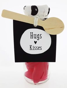 snoepfles cadeau hugs and kisses